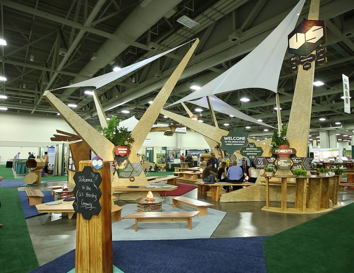 Tradeshow Booth Design for USFS Salt Lake