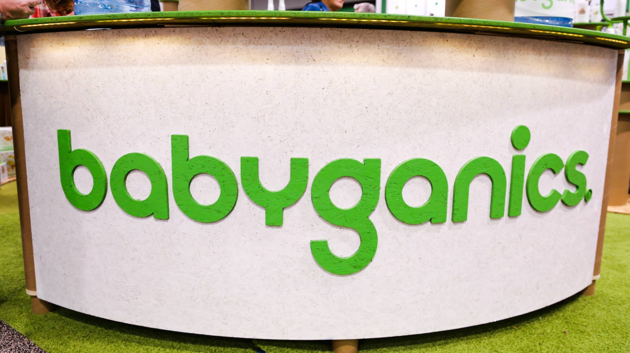 Tradeshow Booth Design for BabyGanics at Natural Products Expo West 2015