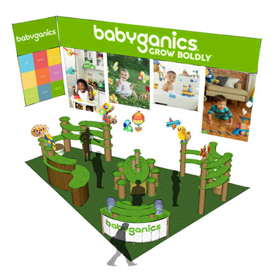 Baby & Childcare Industry Tradeshow Booths