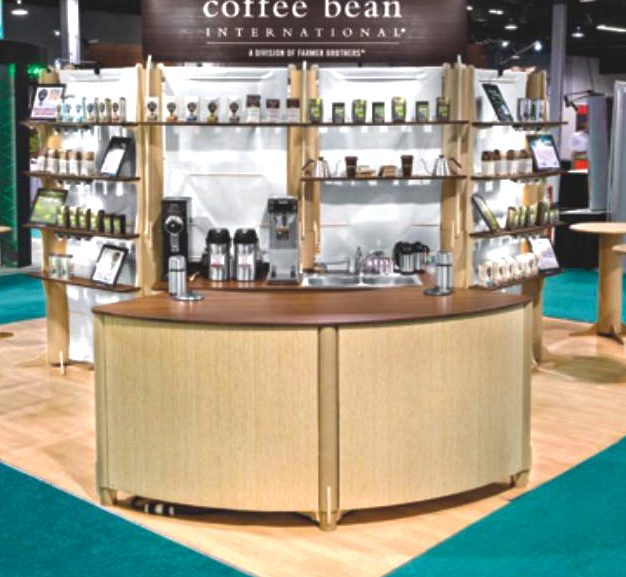 Tradeshow Booth Design for Farmer Brothers at PAK Expo