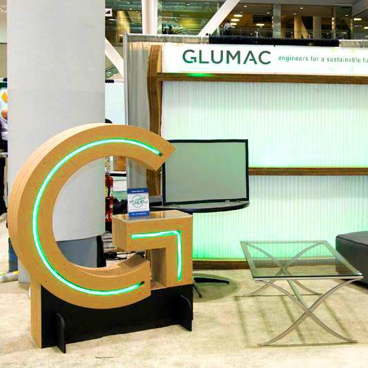 Tradeshow Booth Design for Glumac