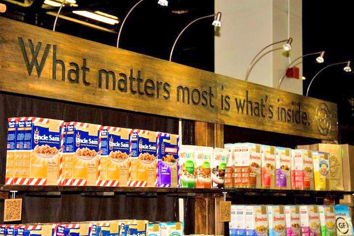Custom Tradeshow Booth Design for Attune Foods