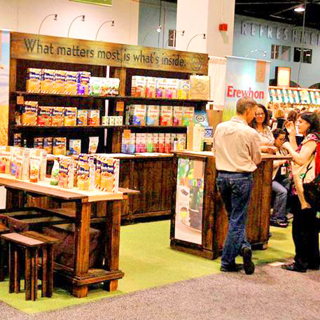 Custom Tradeshow Booth Design for Attune Foods