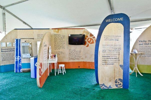 Tradeshow Booth Design for Unilever
