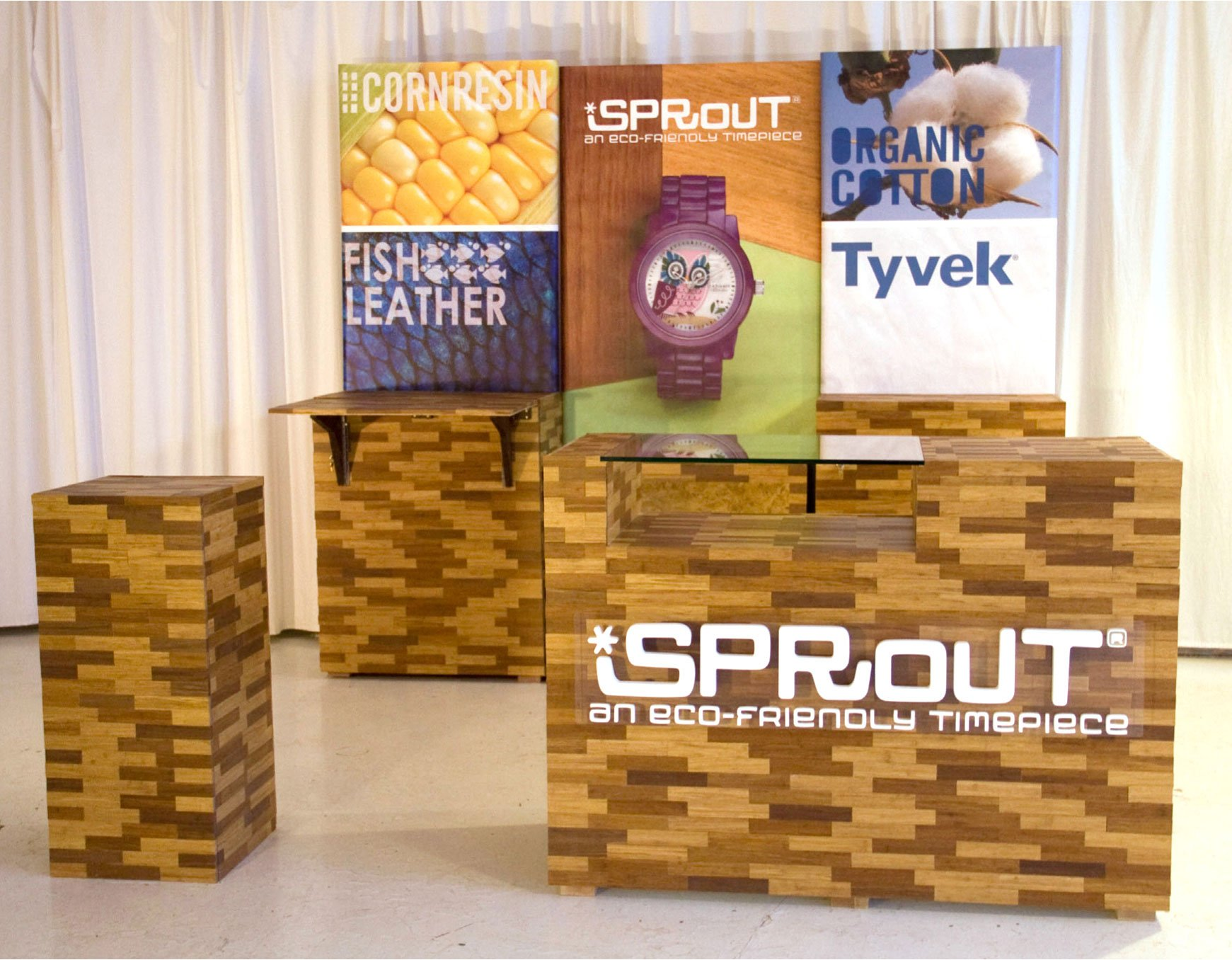 Tradeshow Booth Design for Sprout Watches