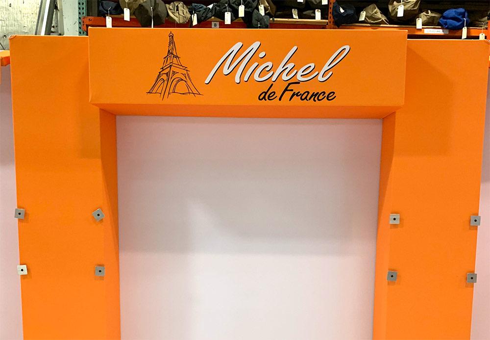 Tradeshow Booth for Michel de France