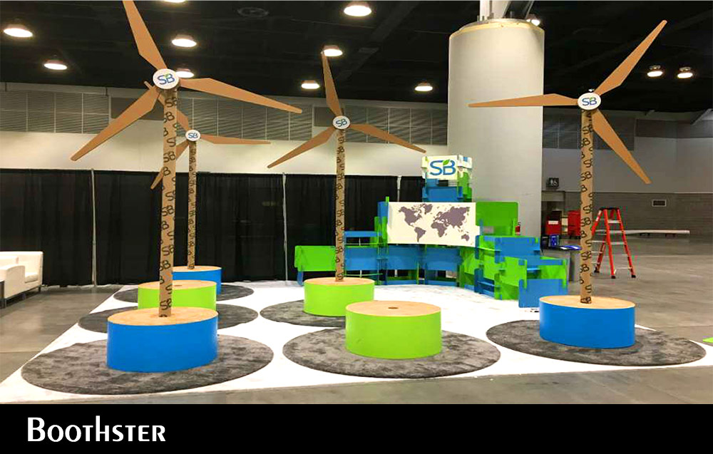 In-House Tradeshow Booth Design for Sustainable Brands Show