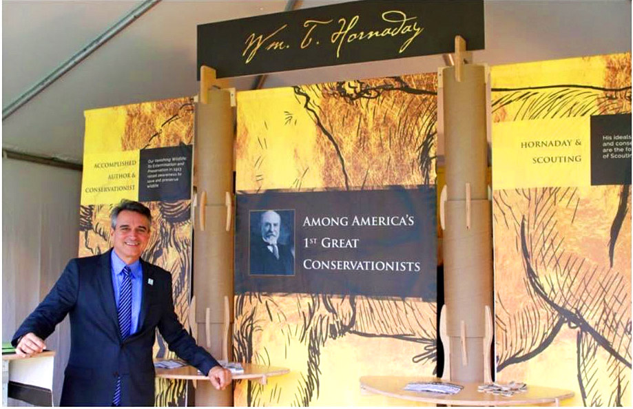 Tradeshow Booth Design for Boy Scouts of America 2016
