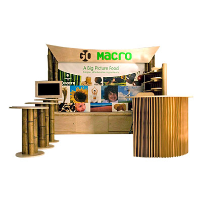 Tradeshow Booth Design for GoMacro 2010