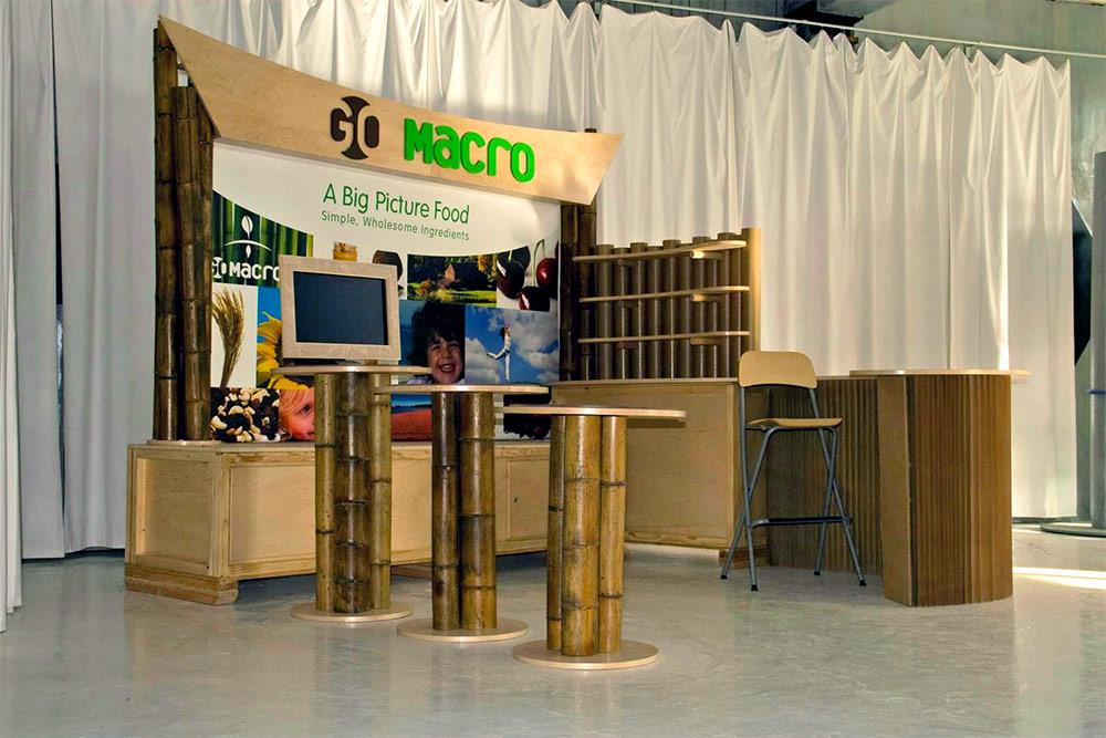 Tradeshow Booth Design for GoMacro