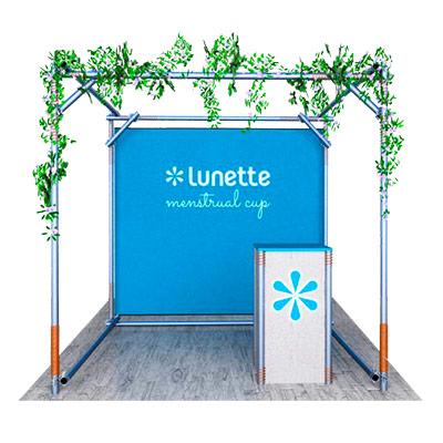 Tradeshow Booth Design for Lunette 2016