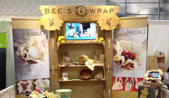 Tradeshow Booth Design for Bees Wrap